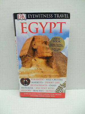 Egypt Eyewitness Travel Guide Book Pyramids Mosques Hotels Markets Nile Cruises
