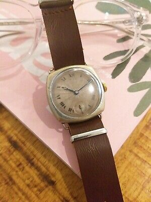 1920s Rolex AUSTRALIAN DELIVERED watch vintage military style trench cathedral