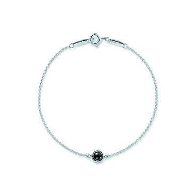 7e6510872 Tiffany & Co Elsa Peretti Color by the Yard Bracelet with a Black Jade  Cabochon