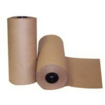 1x 600mm x 50m Brown Kraft Paper Wrapping Parcel Roll