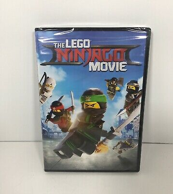 The LEGO NINJAGO Movie (DVD, 2017) NEW
