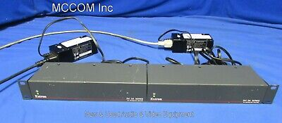Extron DVI DA Series DVI Distribution Amplifier Qty 2 w/ DVIDA4, DVIDA2, PS