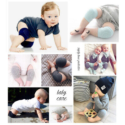Kids Baby Safety Knee Protector Pads Crawling Elbow Cushion Infants Toddlers New
