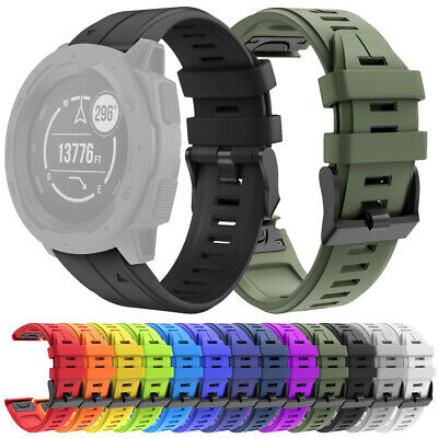 NEW 22MM QuickFit Silicone Sports Watch Band Wristband Strap for Garmin Instinct