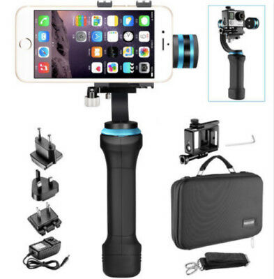 3-Axis Handheld Gimbal Stabilizer for GoPro HERO, Smartphone