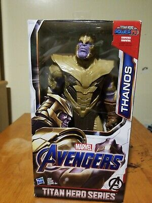 "TITAN HERO SERIES Marvel AVENGERS END GAME  THANOS 12"" FIGURE ** RARE ** IN-HAND"