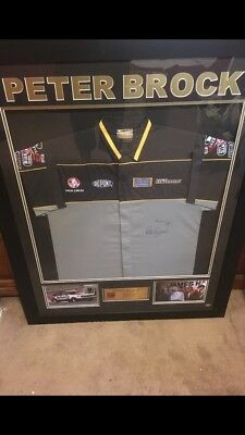 Peter Brock Signed Shirt. Has Certificate Of Authentication. Perfect Condition.