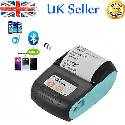 Handheld 58MM Wireless Bluetooth Thermal Printer Receipt POS Printer H4T3