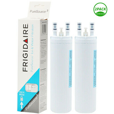 1/2 Pack Frigidaire PourSource 3 WF3CB 242069601 Fridge Water Filter Replacement