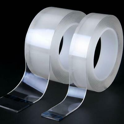 Double-sided Adhesive Nano Tape Washable Removable Tapes Gel Grip