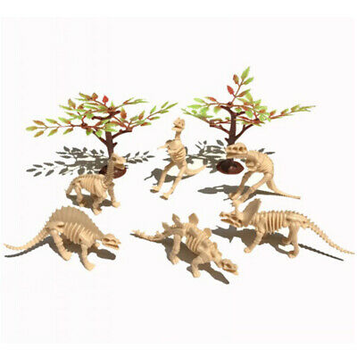 12psc Dinosaur Fossil Model Archaeological Scientific Research Educational Toy