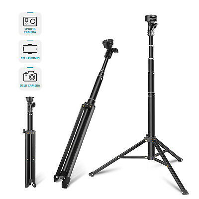Neewer 2-in-1 Extendable Selfie Stick Monopod and Tripod Stand for iPhone