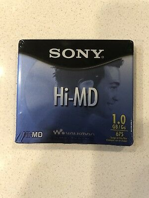 Sony HI-MD 1GB MiniDiscs for MD NetMD Hi-MD *NEW/SEALED*