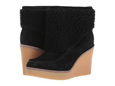 5d26e41c2ab UGG AUSTRALIA COLDIN Wedge Ankle Bootie 1018648 Exposed Shearling ...