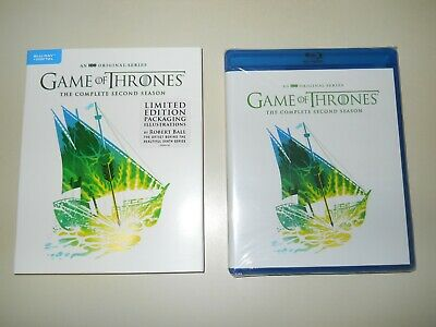 Game Of Thrones ( Complete 2Nd Season ) Blu Ray + Digital ( Walmart Limited Ed )
