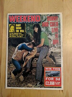 1967 Weekend Magazine Sonny & Cher