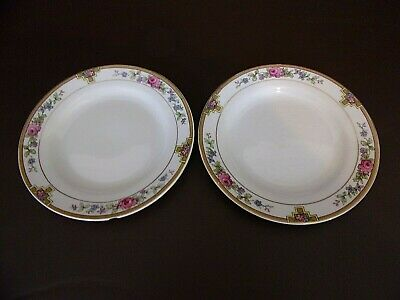 Vintage J&G Meakin Sol Ware Bread Plates (Imperfect) (#10A086)