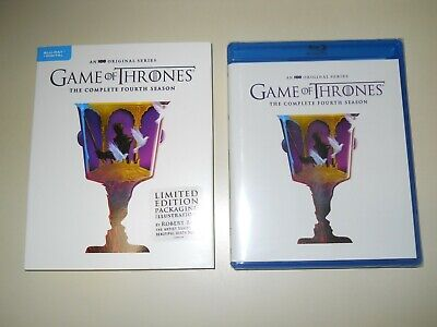 Game Of Thrones ( Complete 4Th Season ) Blu Ray + Digital ( Walmart Limited Ed )