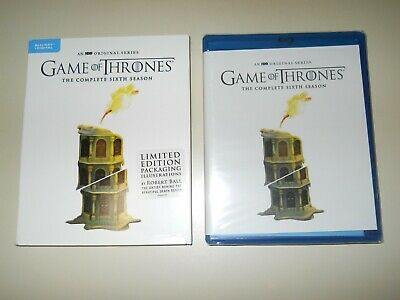Game Of Thrones ( Complete 6Th Season ) Blu Ray + Digital ( Walmart Limited Ed )