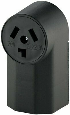 3-Pole 3-Wire 30-Amp 125-Volt Surface Mount Dryer Power Receptacle COOPER
