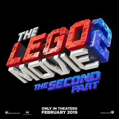 The LEGO Movie 2: The Second Part DVD Disc ONLY, 2019, NeVeR WaTcHeD 88392964556