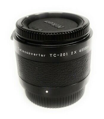 Nikon TC-201 2X 1403 Manual Focus AIS Lenses F Mount Lens Teleconverter