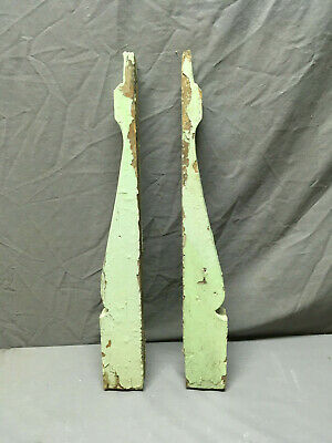 Pair Antique Corbels Shelf Brackets Shabby Vintage Chic 317-19L