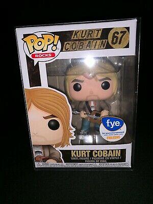 Funko Pop! Kurt Cobain Music FYE Exclusive #67. W/ POP PROTECTOR