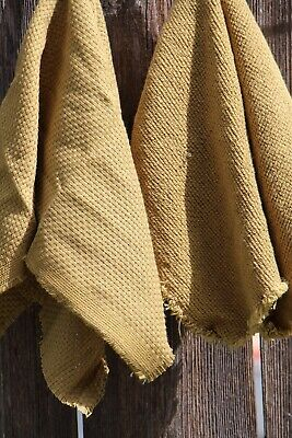 NATURAL CREAM 7 count Monks Cloth Zweigart fabric 50 x 70cm