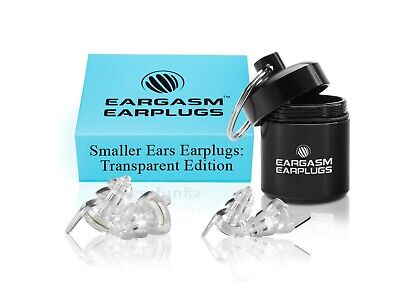 Eargasm High Fidelity EarPlugs Smaller Transparent Edition Premium Gift Box