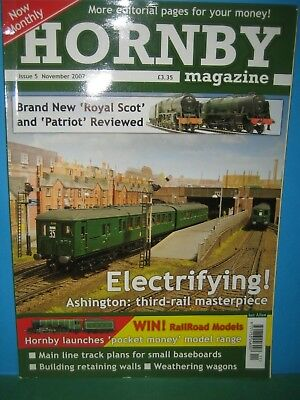 HORNBY MAGAZINE NOVEMBER 2007 No 5 > FIFTH ISSUE ~ SR 3 RAIL TOPIC > SEE PIC'S