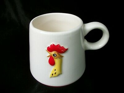 Vintage Holt Howard Coffee Mug Rooster 1960