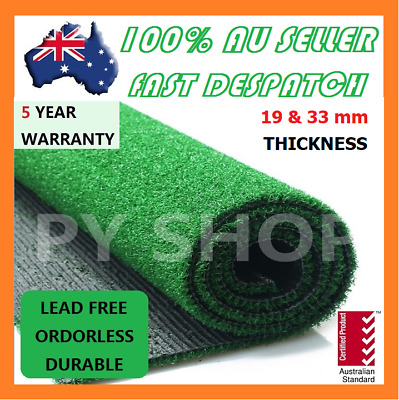1-100SQM Synthetic Grass Artificial Turf Plastic Olive Green Plant Lawn Flooring