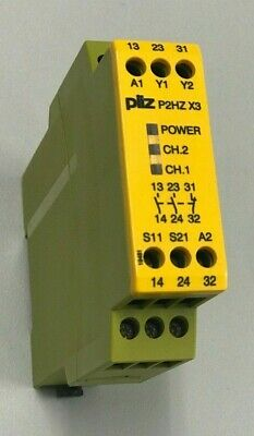 Pilz P2Hz X3 Safety Relay 774350 24Vdc  Made In Germany