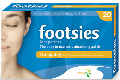 Footsies Japanese Detox Foot Pads Tranquility Patches : Detox Whilst You Sleep