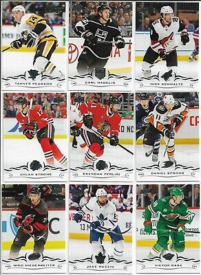 2018-19 Upper Deck SP Authentic Hockey Update Base 501-511 U PICK