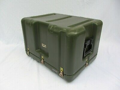 "Pelican Hardigg Single Lid Inverted Military Transport Storage Case 25""x19""x17"""