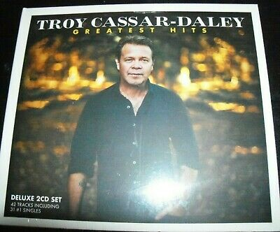 TROY CASSAR-DALEY: Greatest Hits Very Best Of 2 CD – New