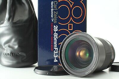 【MINT!!】 Contax Carl Zeiss Vario Sonnar T* 28-85mm f/ 3.3-4 MMJ Lens from Japan