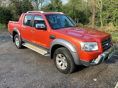 Ford Ranger 3.0TDCi (156PS) 4x4 Wildtrak Double Cab 1 Owner FSH 130K P X No VAT