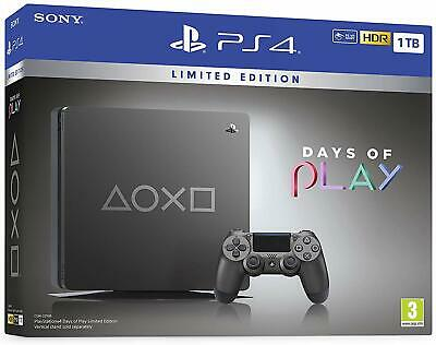 Console Sony Ps4 Slim 1Tb Days Of Play Limited Edition Playstation 4 Steelblack