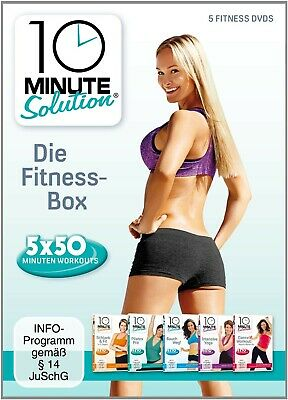 10 Minute Solution - Die Fitness Box 5 Dvd New