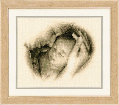 Sleeping Safely :  Vervaco Counted Cross Stitch Kit  PN0012175