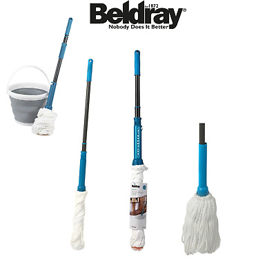 High Quality Extendable Telescopic Floor Mop Range Cotton Microfibre Twist Mops