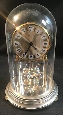 Timemaster Mantle Clock In Fantastic Condition 23cm Tall