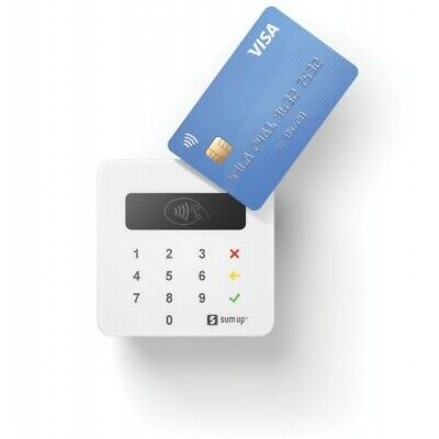 SUM UP CARD READER Machine Debit Credit Visa Mastercard Payments Wireless