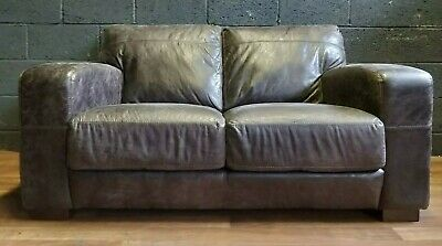 John Lewis Chesterfield  Leather Club  Sofa
