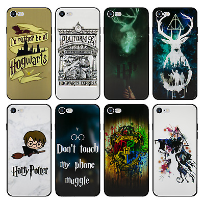 Harry Potter Gel Case for Apple iPhone 5 5s SE 5c 6 6s 7 8 PLUS X XS Max XR