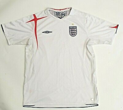 Official England Football Shirt By Umbro T-Shirt - Size X Large - Three Lions