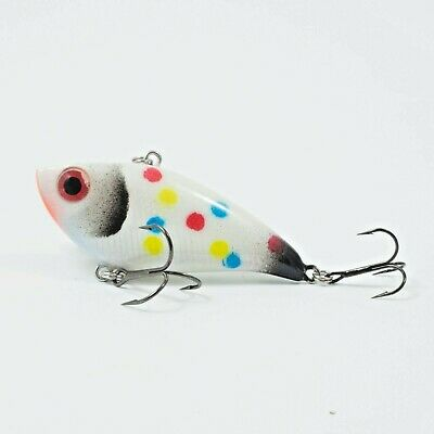 """Northland Tackle Rippin Shad RS2-93 Glo Redfish Tiger 3//8 oz 2/"""" Ice Lure"""